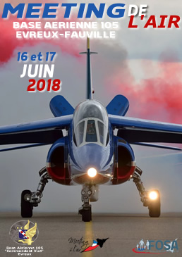 Meeting de l'Air de la FOSA BA 105 Evreux